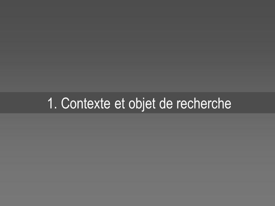 1. Contexte et objet de recherche