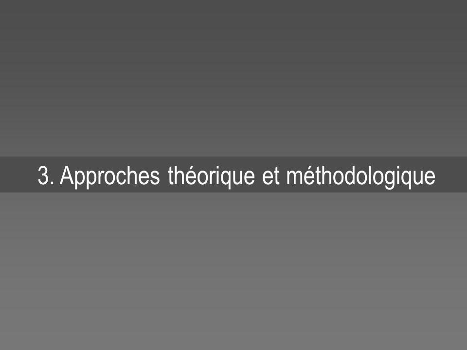 3. Approches théorique et méthodologique