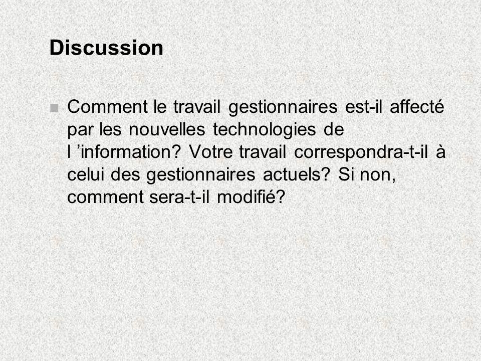 Sujets de discussion pour la séance 3 n Quels seraient les risques à acquérir un progiciel en se basant uniquement sur les recommandations dautres utilisateurs de ce progiciel.
