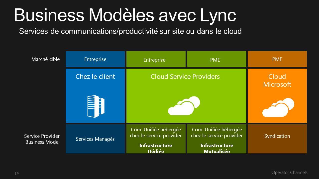 14 Services Managés Service Provider Business Model Syndication Entreprise PME Chez le clientCloud Service ProvidersCloud Microsoft Com.