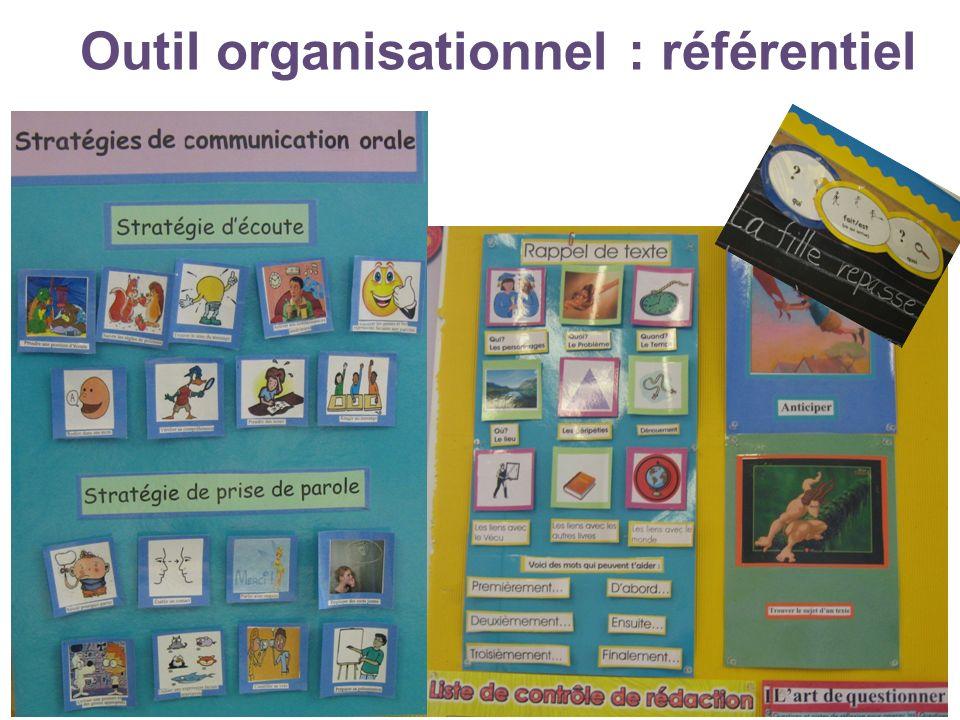Outil organisationnel : référentiel © Moreau et Stanké, mai 201334