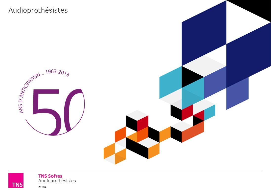 Audioprothésistes © TNS Audioprothésistes