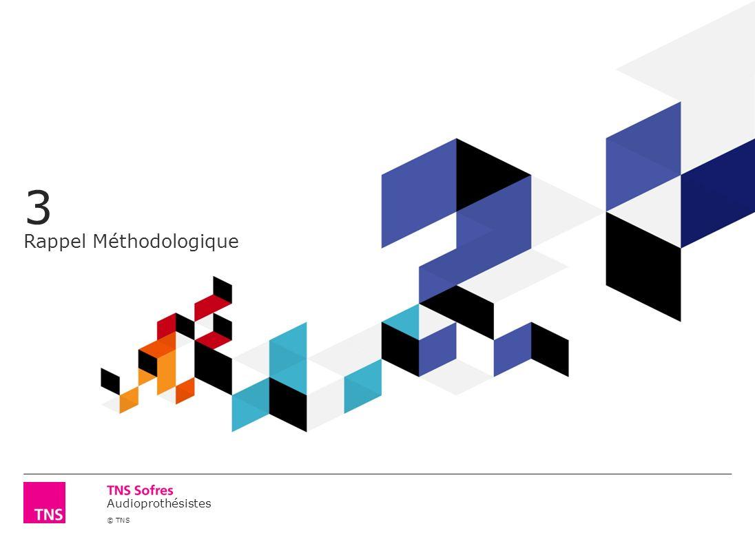 Audioprothésistes © TNS 3 Rappel Méthodologique