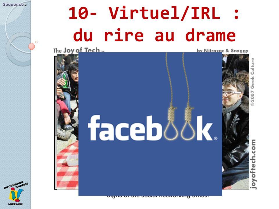 10- Virtuel/IRL : du rire au drame Séquence 2