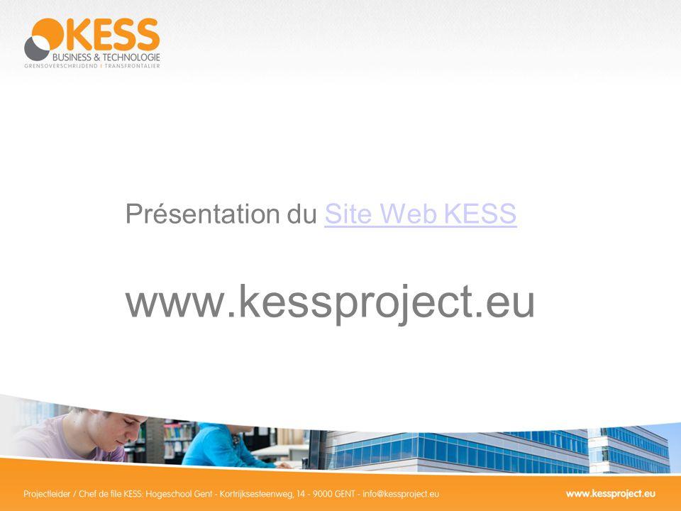 Présentation du Site Web KESSSite Web KESS www.kessproject.eu