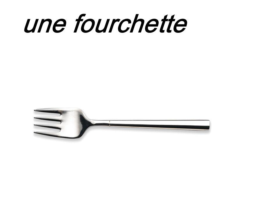 une fourchette