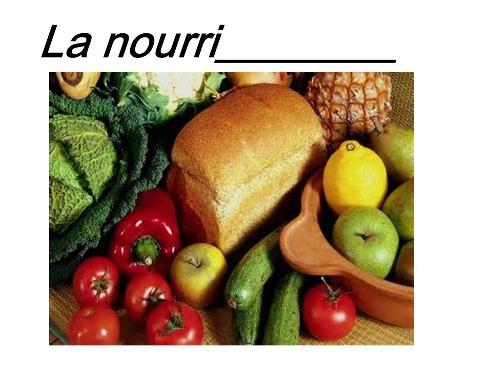 La nourri________