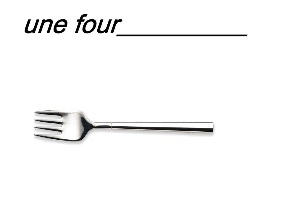 une four__________
