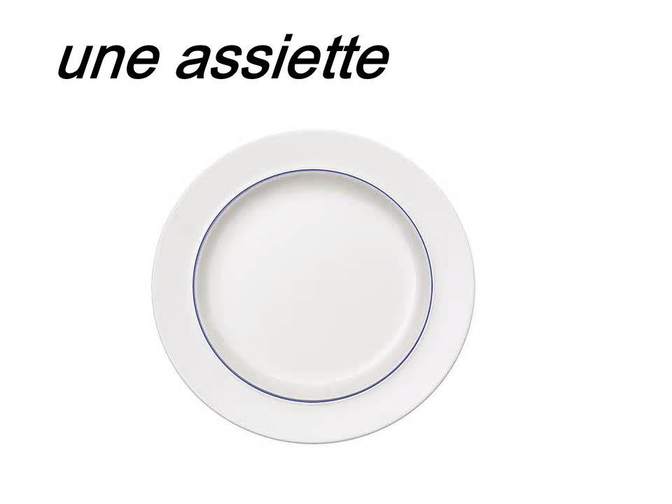 une assiette