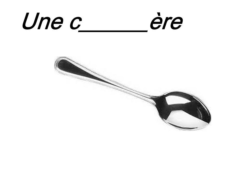 Une c______ère