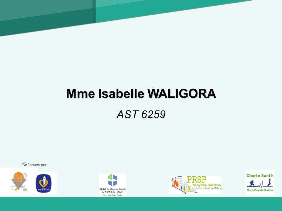Cofinancé par Mme Isabelle WALIGORA AST 6259
