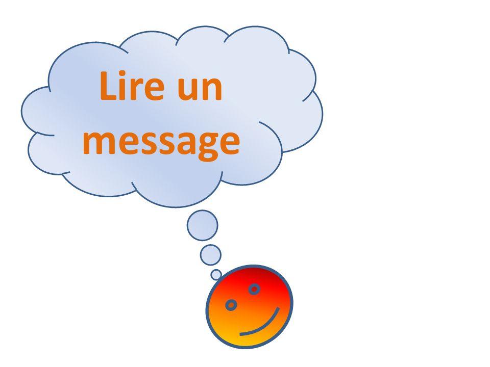 Lire un message