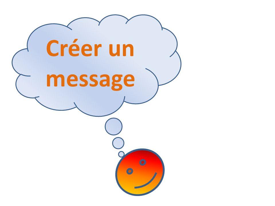 Créer un message