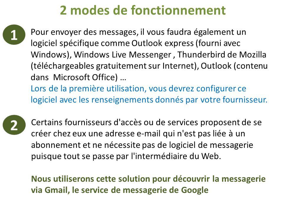 Certains fournisseurs d'accès ou de services proposent de se créer chez eux une adresse e-mail qui n'est pas liée à un abonnement et ne nécessite pas