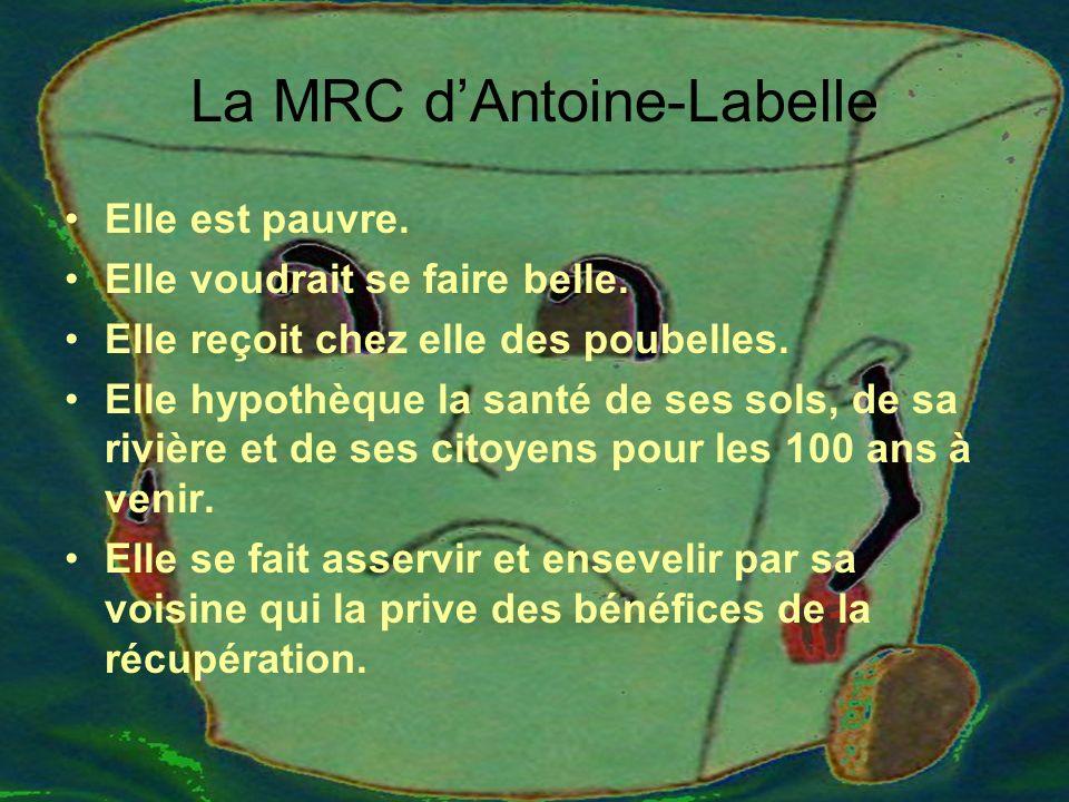 La MRC dAntoine-Labelle Elle est pauvre. Elle voudrait se faire belle.