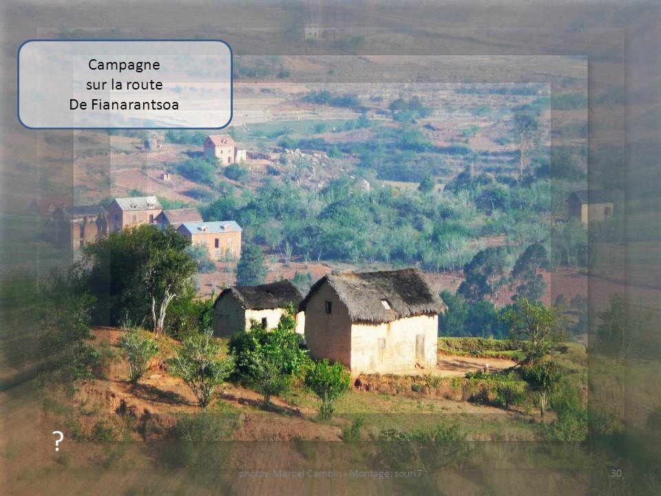 ? Etal dartisanat sur la route De Fianarantsoa 29photos Marcel Camoin - Montage: souri7