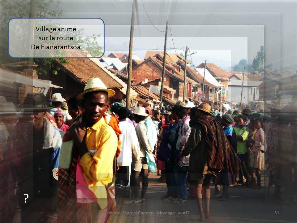 ? Campagne sur la route De Fianarantsoa 30photos Marcel Camoin - Montage: souri7