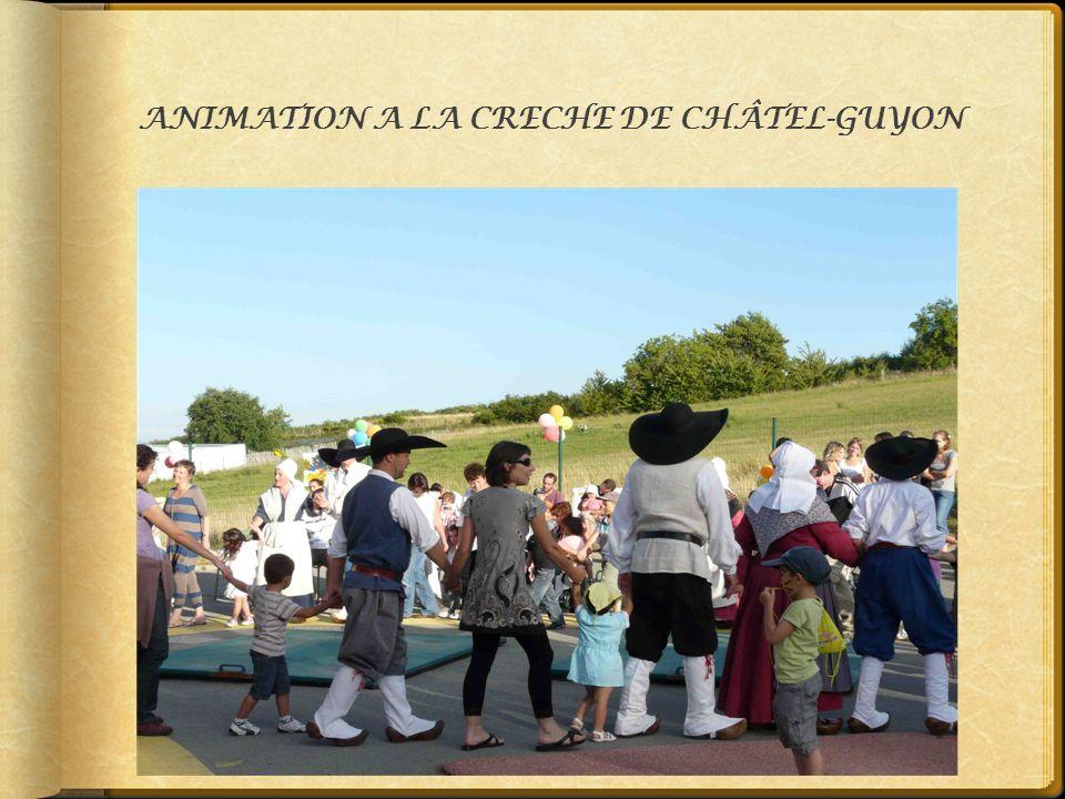 ANIMATION A LA CRECHE DE CHÂTEL-GUYON