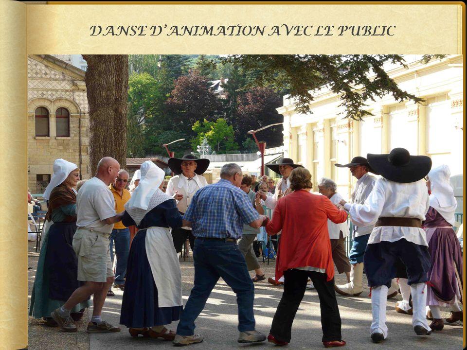 DANSE DANIMATION AVEC LE PUBLIC