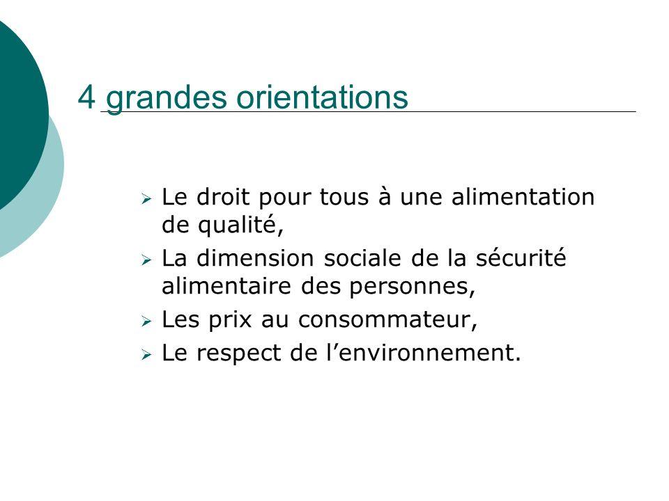 Recommandations Pour le capital humain : Valoriser le métier dagriculteur, et lagriculture.