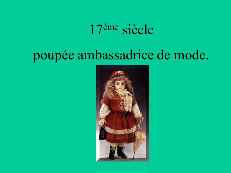 Les Romains fabriquaient des poupées en bois.