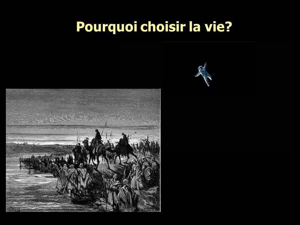 Pourquoi choisir la vie?