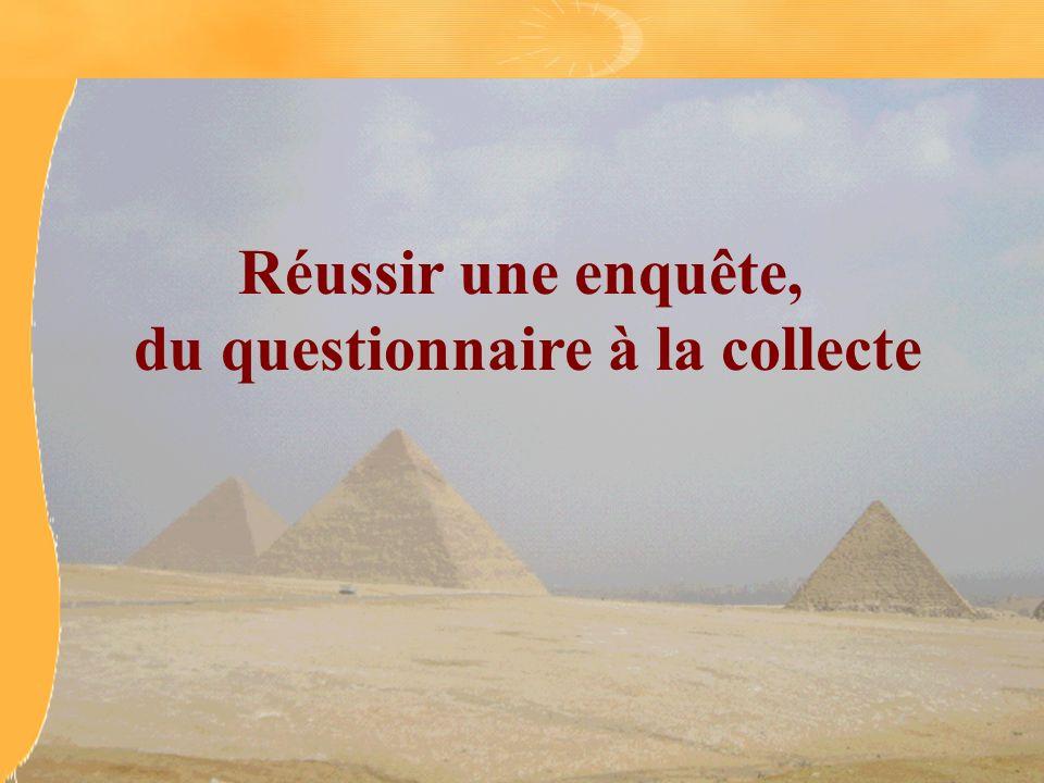 Le questionnaire La question, la réponse et le concept Les différentes formes de questions Le questionnaire comme liste Le questionnaire comme système Lart du questionnaire