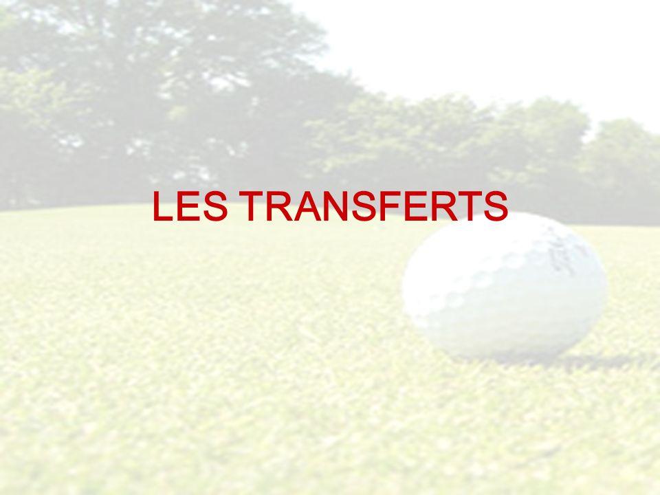Les transferts