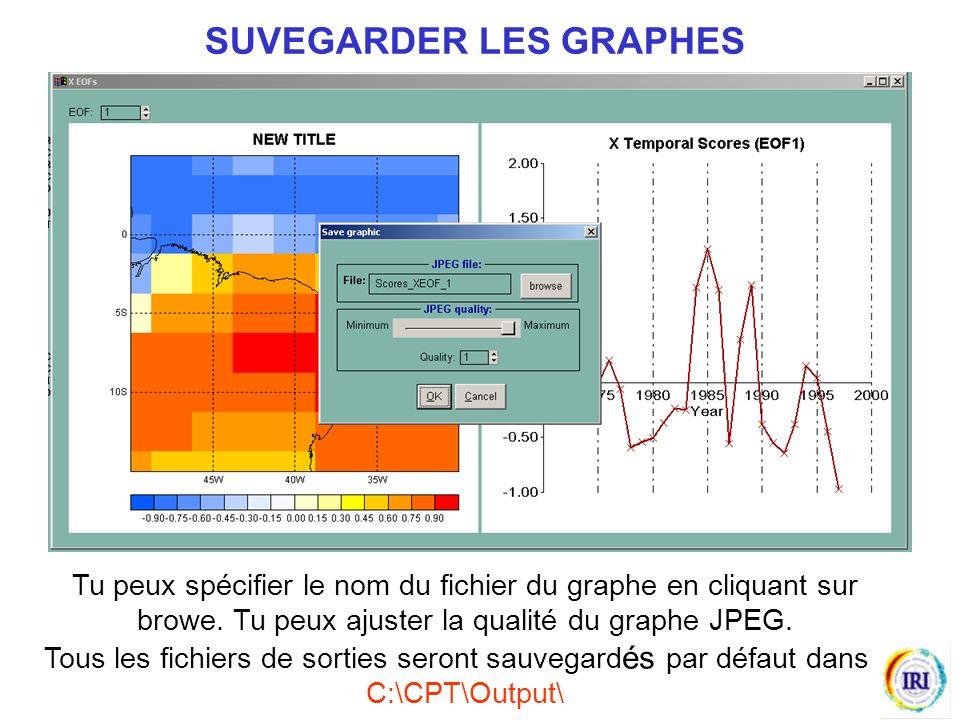 Tu peux spécifier le nom du fichier du graphe en cliquant sur browe.