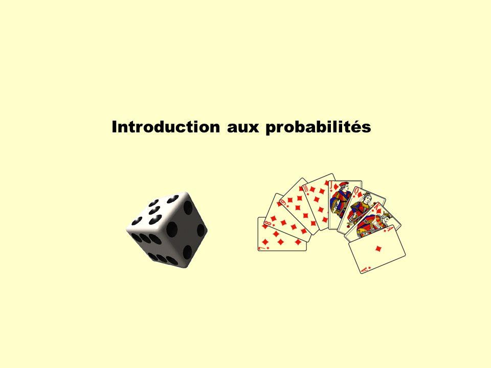 Expérience aléatoire Si lon énumère tous les résultats possibles dune expérience aléatoire, on constitue un ensemble appelé lunivers des possibles et noté ( oméga ).