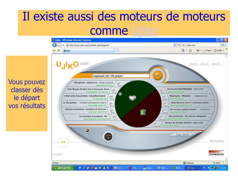 Stéphane Coupé - LP Vinci 200815 Il existe aussi des moteurs de moteurs comme UjikoUjiko Vous pouvez classer dès le départ vos résultats