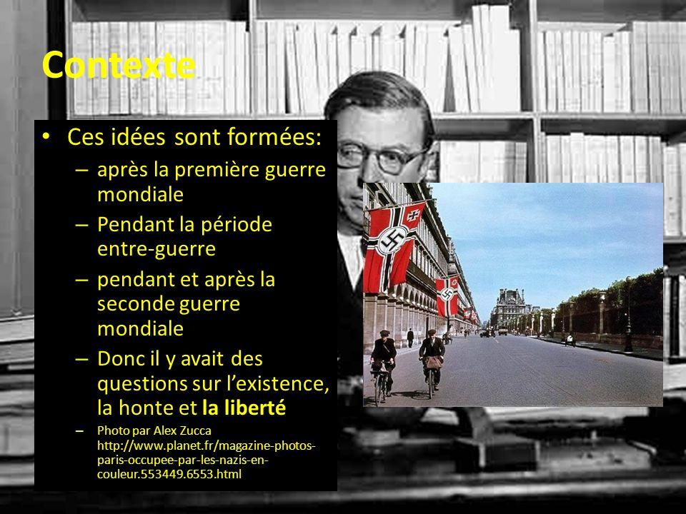 La Liberté de Sartre Un principe trouvé dans ses œuvres qui est très important pour comprendre ses philosophies Pour lui lhomme « est tout entier et toujours libre » La liberté est absolue « Je suis condamné à être libre »