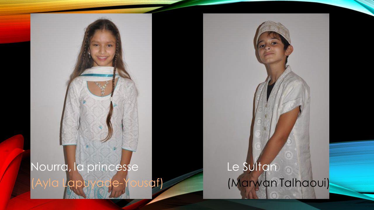 Ahmed, le plus jeuneAli, le cadetHoussain, le plus grand (Safiya Aslam)(Danahe Usannaz)(Amandine Andre)