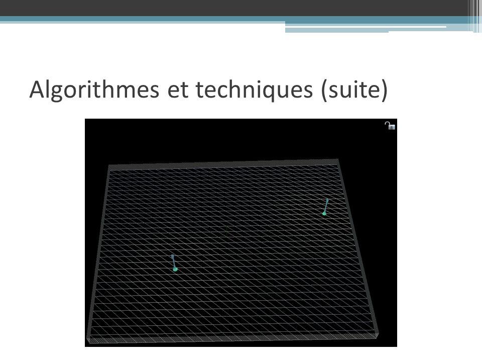 Algorithmes et techniques (suite)