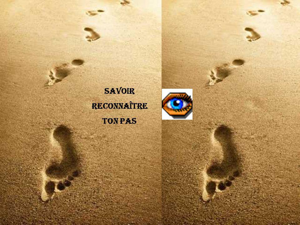 Savoir Reconnaître Ton pas