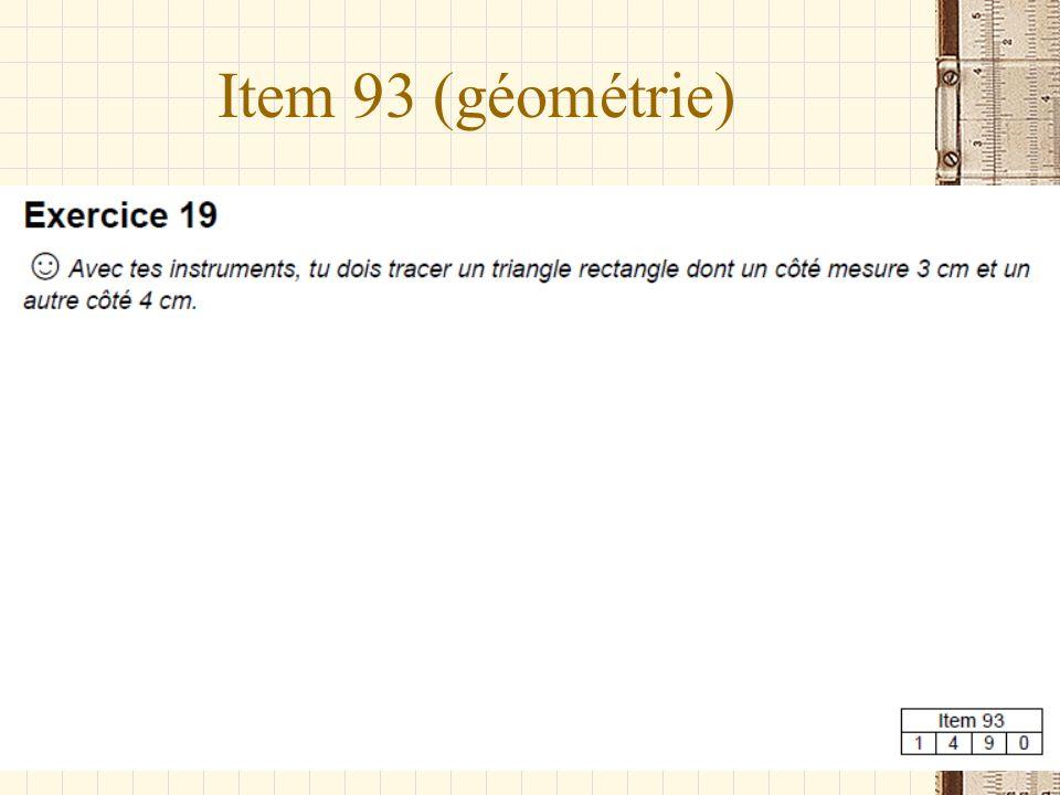 Item 93 (géométrie)