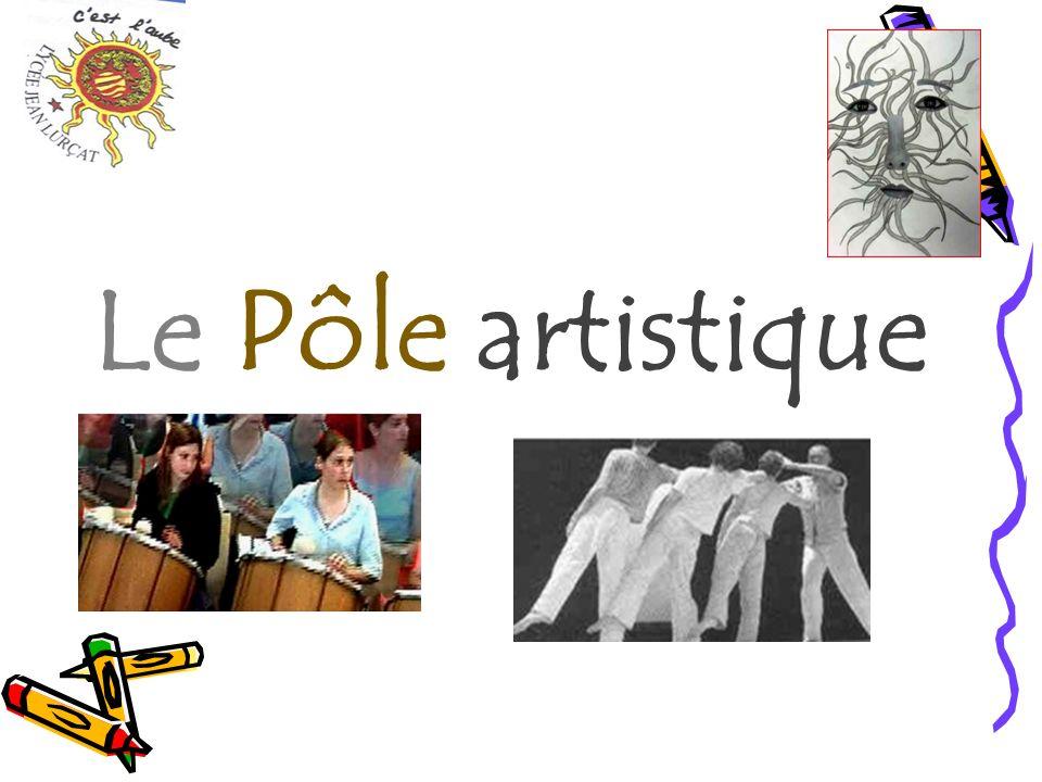 Le Pôle artistique