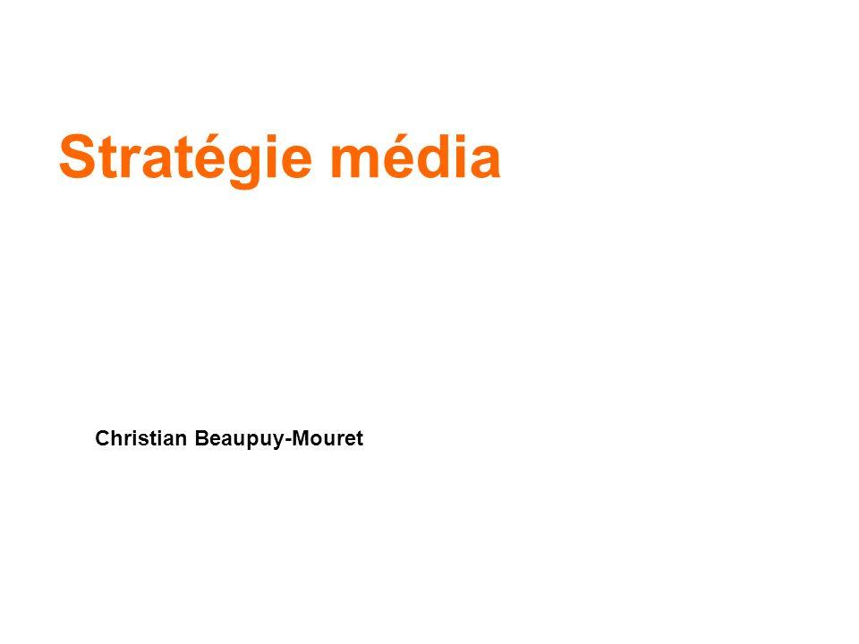 Stratégie média Christian Beaupuy-Mouret
