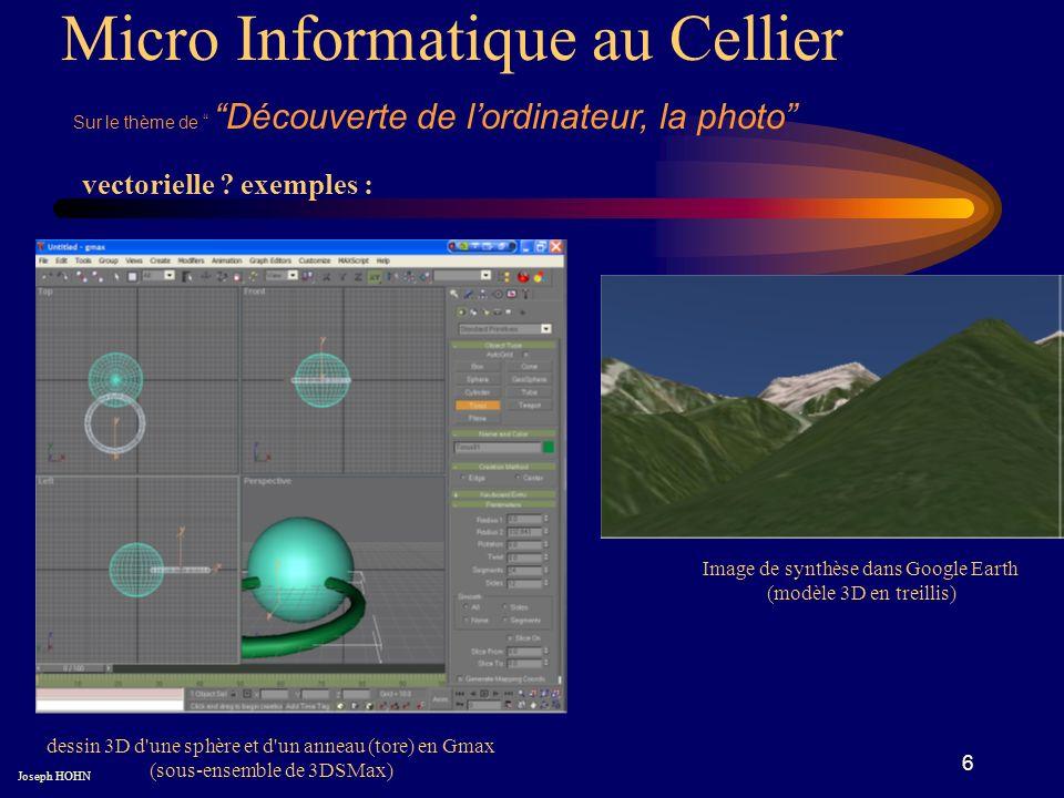 6 Micro Informatique au Cellier Sur le thème de Découverte de lordinateur, la photo vectorielle .