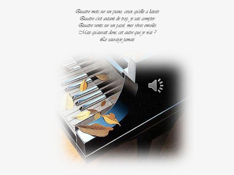 Patrick Fiori, Jean Jacques Goldman-Christine Ricol 2007 Quatre mots sur un piano Par Nanou et Stan