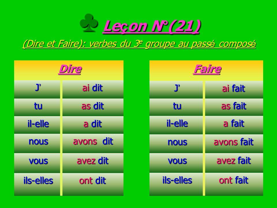 EXERCICE N°(20) Conjugue les verbes entre parenth è ses au pr é sent de l indicatif EXERCICE N°(20) Conjugue les verbes entre parenth è ses au pr é se