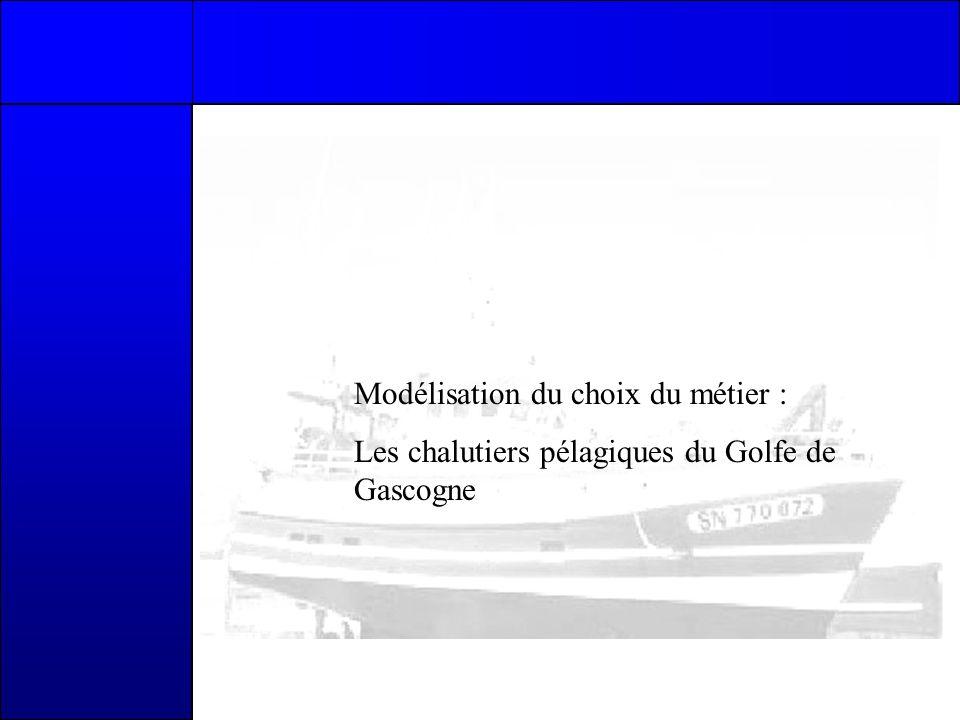 Modélisation du choix du métier : Les chalutiers pélagiques du Golfe de Gascogne