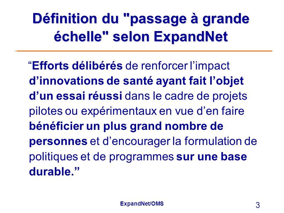 ExpandNet/OMS 3 Définition du
