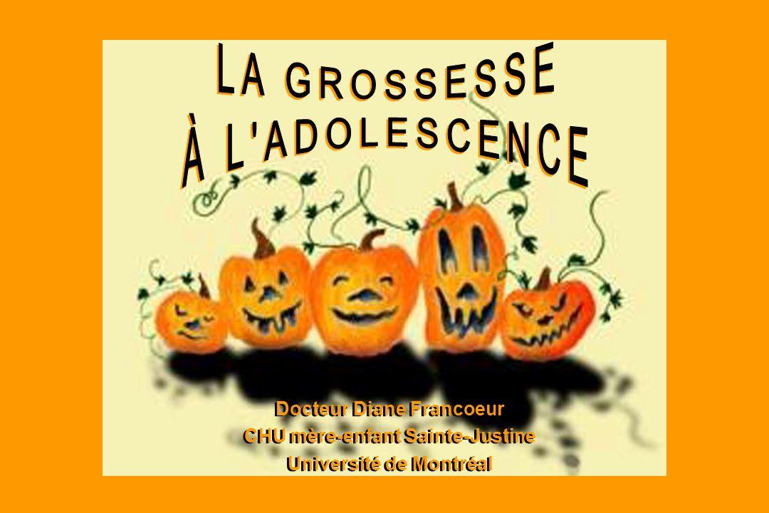 Docteur Diane Francoeur CHU mère-enfant Sainte-Justine Université de Montréal Docteur Diane Francoeur CHU mère-enfant Sainte-Justine Université de Mon