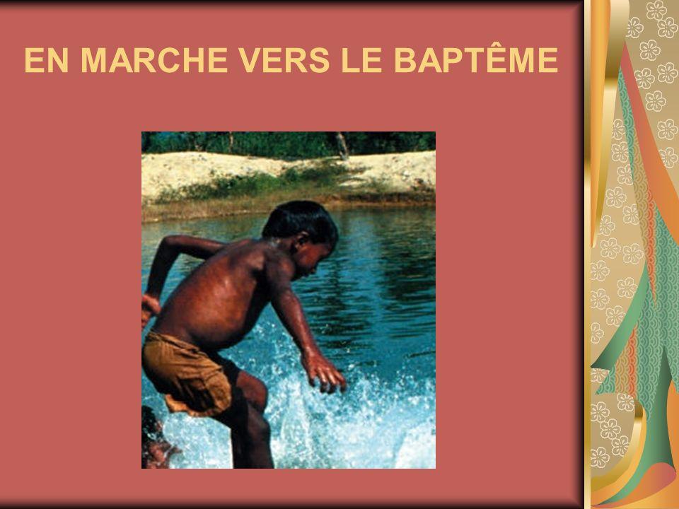 EN MARCHE VERS LE BAPTÊME
