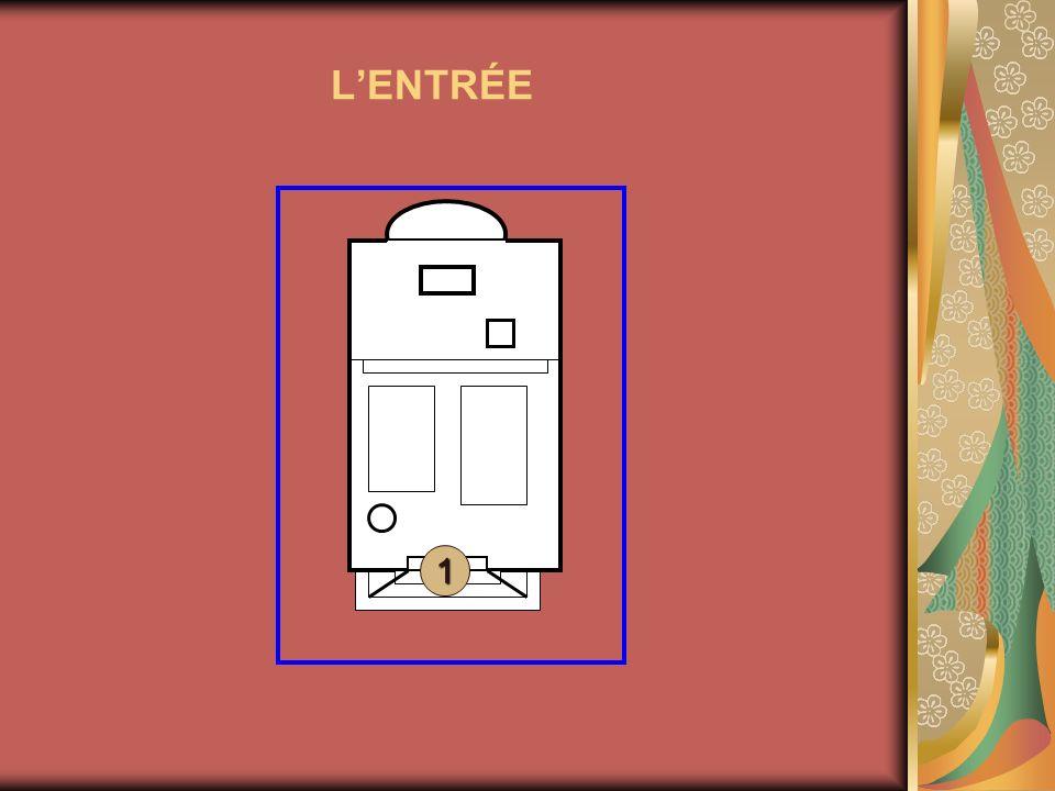 LENTRÉE 1