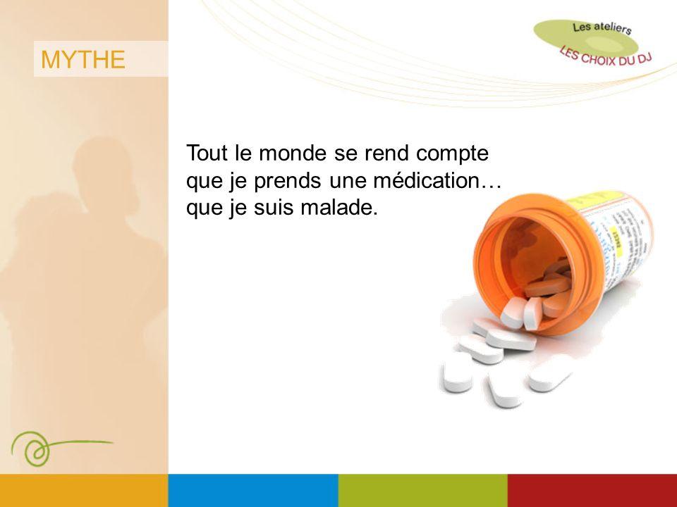 MYTHE Si je prends des pilules, je ne pourrai pas aller à lécole ou retourner travailler.