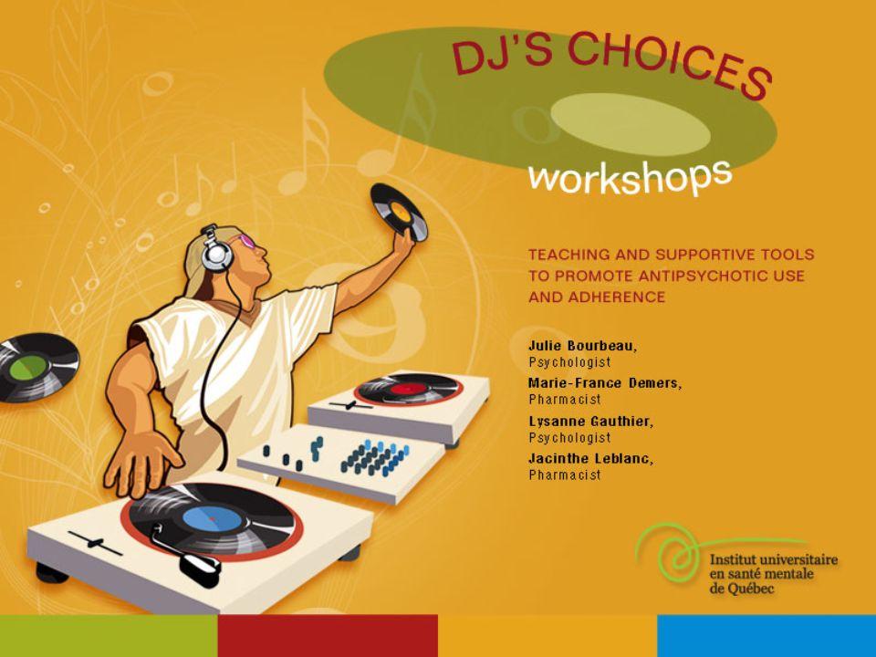 LES CHOIX DU DJ Le DJ garde le tempo. Il poursuit son élan.