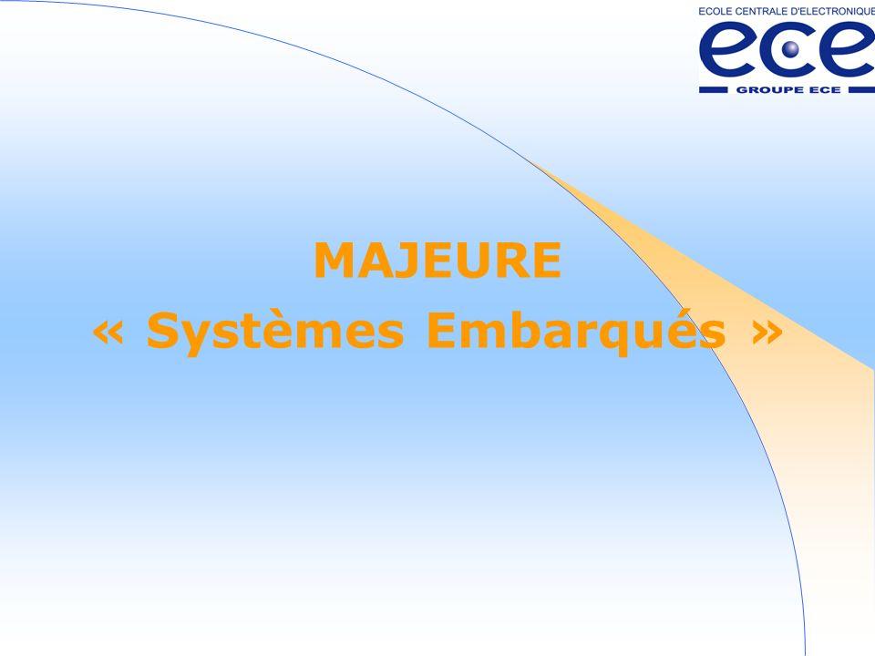 MAJEURE « Systèmes Embarqués »
