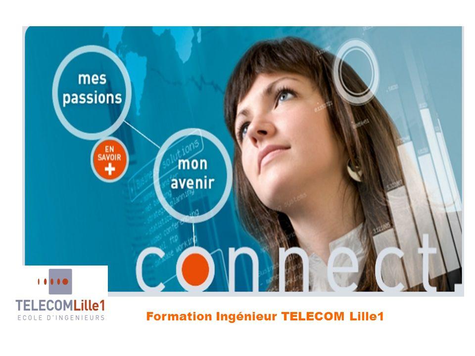 Formation Ingénieur TELECOM Lille1